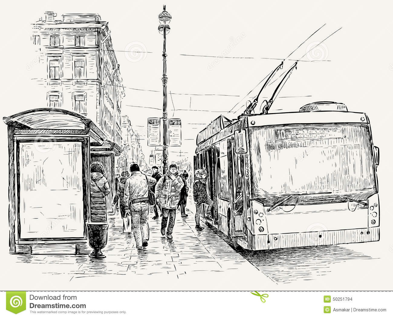 trolleybus-stop-big-city-vector-drawing-bus-street-50251794