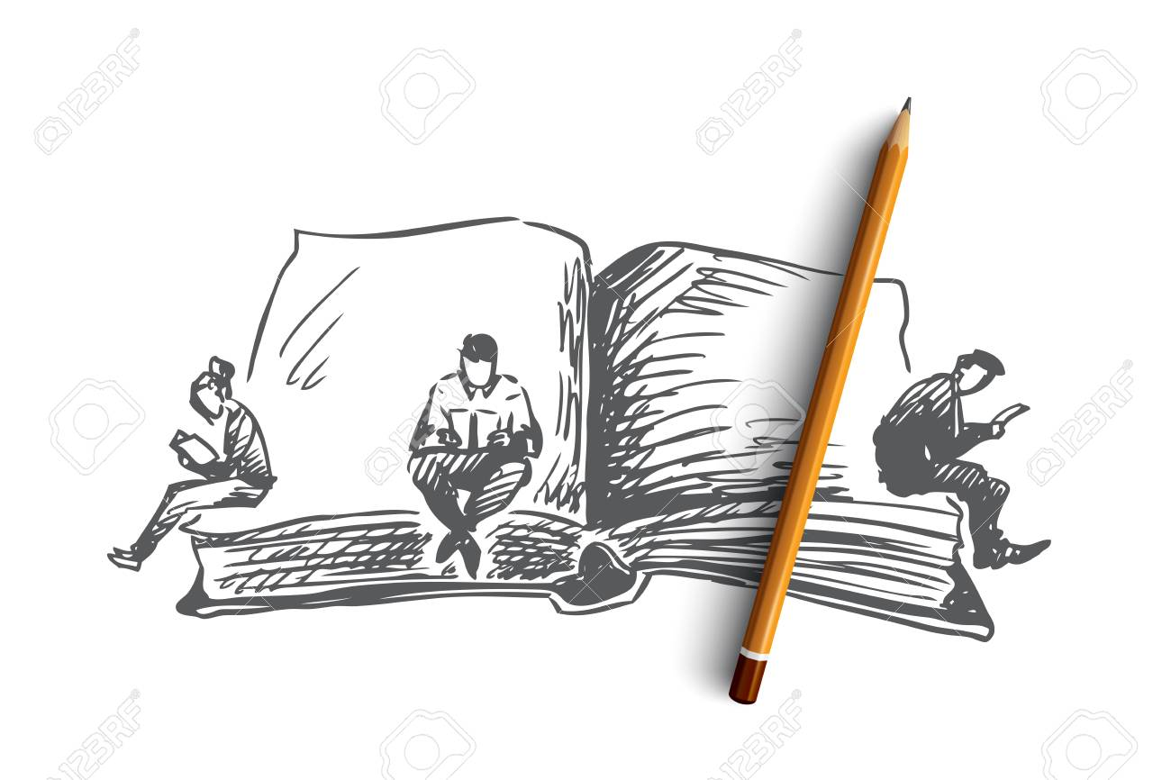 Source: https://previews.123rf.com/images/drawlab19/drawlab191809/drawlab19180900122/110282737-book-world-day-reading-concept-hand-drawn-people-reading-books-at-world-book-s-day-concept-sketch-is.jpg