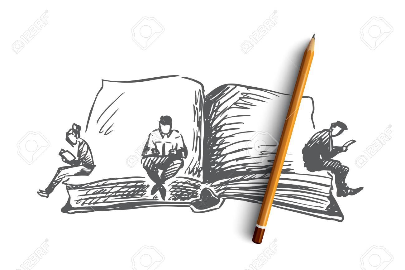 Source: https://previews.123rf.com/images/drawlab19/drawlab191809/drawlab19180900122/110282737-book-world-day-reading-concept-hand-drawn-people-reading-books-at-world-book-s-day-concept-sketch-is.jpg